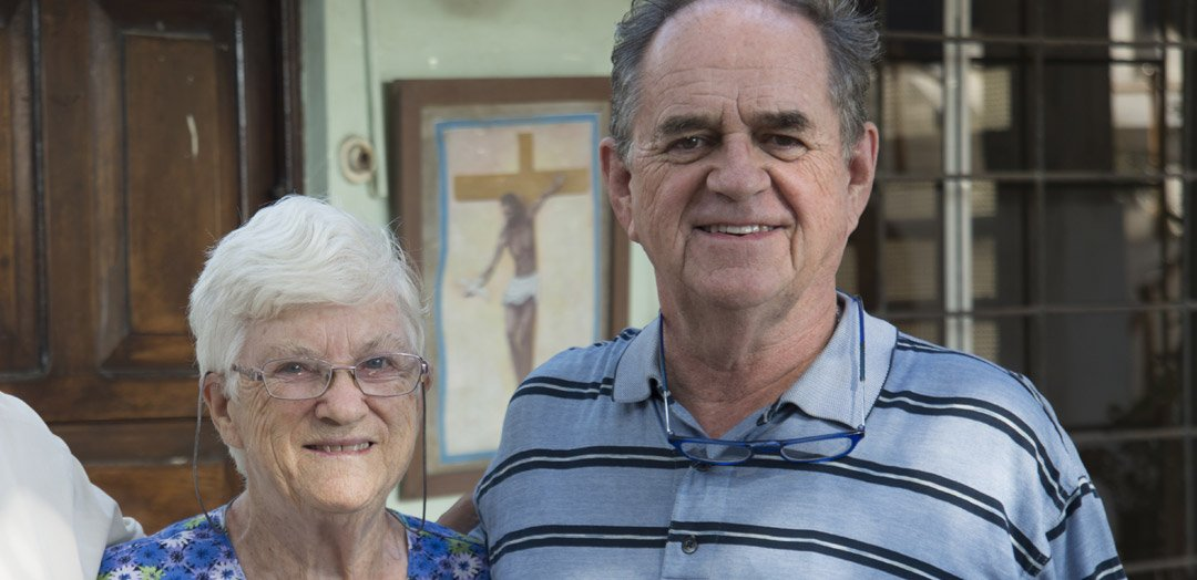 Sister Peggy and Father Jack